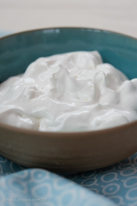 How To Make Whipped Cream from Low Fat Cream on notjustspice.com