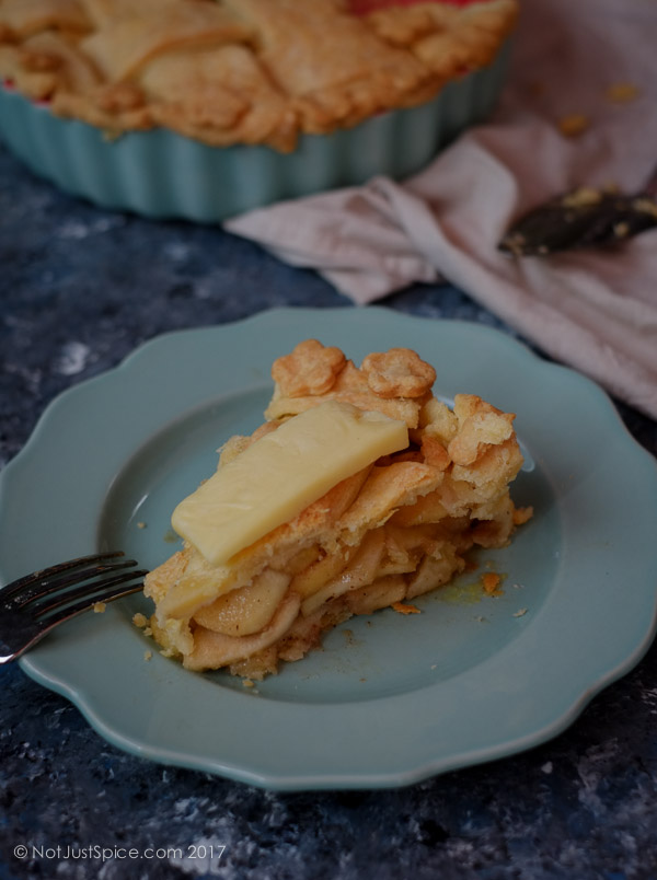 The Ultimate Apple Pie on notjustspice.com
